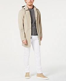 Men's 3/4-Length Top Coat, Created for Macy's