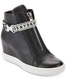 Caddie Wedge Sneakers, Created for Macy's