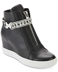 DKNY Caddie Wedge Sneakers, Created for Macy's
