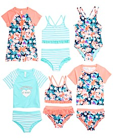 Little Girls Swimwear Mix & Match Separates, Created for Macy's