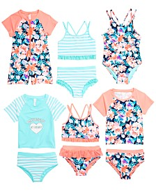 Ideology Little Girls Swimwear Mix & Match Separates, Created for Macy's