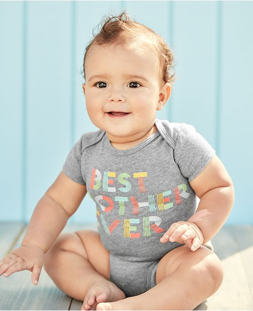 Carter's Baby Boys Best Brother Graphic Cotton Bodysuit