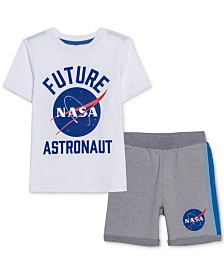 Jem Toddler Boys NASA T-Shirt & Shorts Set