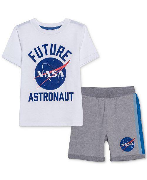 Jem Toddler Boys NASA T-Shirt & Shorts Set