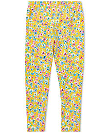 Polo Ralph Lauren Toddler Girls Floral-Print Jersey Leggings