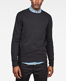 G-Star RAW Men's Motac-X Regular-Fit Pieced Sweatshirt