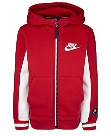 Nike Little Boys Air Sueded Fleece Full-Zip Hoodie