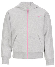 Puma Big Girls Zip-Up Hoodie