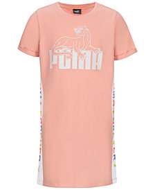 Puma Big Girls Logo-Print T-Shirt