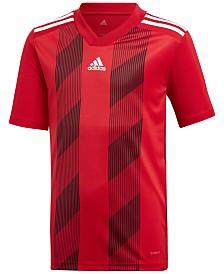 adidas Big Boys Original Climalite® Striped T-Shirt