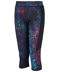 adidas Little Girls Believe Printed Climalite® Capri Tights