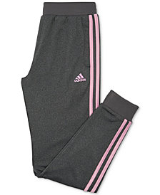 adidas Big Girls Heathered Jogger Pants