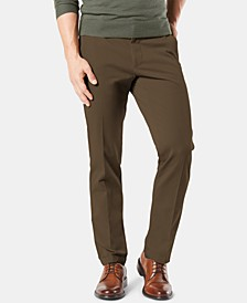 Men's Workday Smart 360 Flex Straight Fit Khaki Stretch Pants