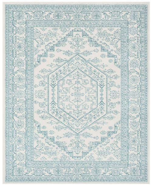 Safavieh Adirondack Ivory and Teal 8' x 10' Area Rug