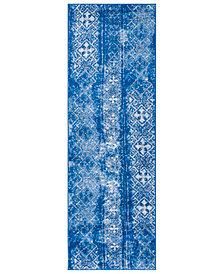 "Safavieh Adirondack Silver and Blue 2'6"" x 6' Area Rug"