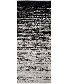 "Safavieh Adirondack Silver and Black 2'6"" x 6' Area Rug"