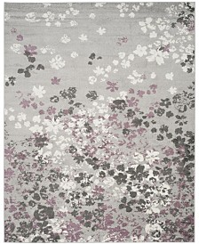 Safavieh Adirondack Light Gray and Purple 8' x 10' Area Rug