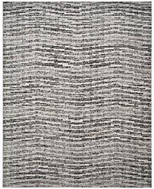 Adirondack Black and Silver 8' x 10' Area Rug