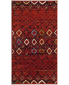 "Safavieh Amsterdam Terracotta and Multi 2'3"" x 4' Area Rug"