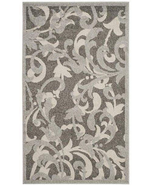Safavieh Amherst Gray and Light Gray 3' x 5' Area Rug