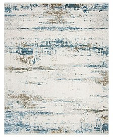 Eclipse Beige and Blue 8' x 10' Sisal Weave Area Rug