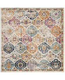 Safavieh Madison Cream and Multi 5' x 5' Square Area Rug
