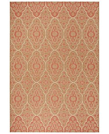 """Natural and Beige 8' x 11'2"""" Area Rug, Created for Macy's"""