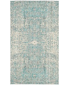 Mystique Teal and Multi 3' x 5' Area Rug