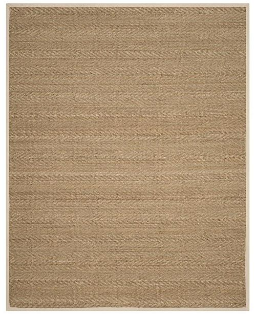 Safavieh Natural Fiber Natural and Ivory 8' x 10' Sisal Weave Area Rug