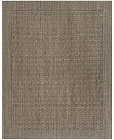 Palm Beach Silver 8' x 10' Sisal Weave Area Rug