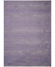 Safavieh Palazzo Purple and Light Gray 8' x 11' Area Rug