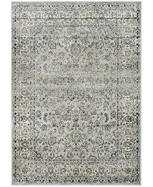 "Safavieh Persian Garden Vintage Light Blue and Ivory 4' X 5'7"" Area Rug"