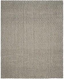 Natural Fiber Natural and Gray 8' x 10' Sisal Weave Area Rug