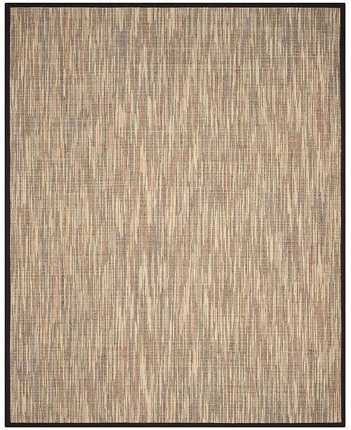 Safavieh Natural Fiber Natural and Brown 8' x 10' Sisal Weave Area Rug