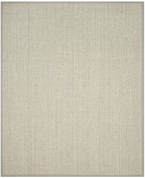Safavieh Natural Fiber Gray 8' x 10' Sisal Weave Area Rug