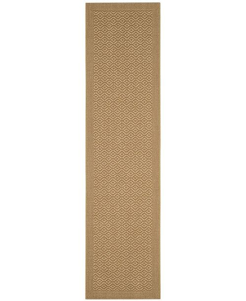Safavieh Palm Beach Maize 2' x 8' Sisal Weave Runner Area Rug