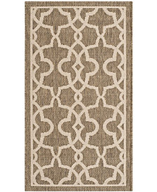 "Safavieh Retro Black and Light Gray 2'3"" x 7' Area Rug"