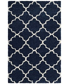 Hudson Navy and Ivory 4' x 6' Area Rug