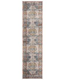 "Safavieh Vintage Persian Beige and Blue 2'2"" x 8' Runner Area Rug"