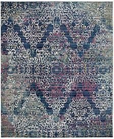 Aria Blue and Multi 8' x 10' Sisal Weave Area Rug