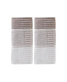Planet Ombre 2 Piece Hand Towel Set