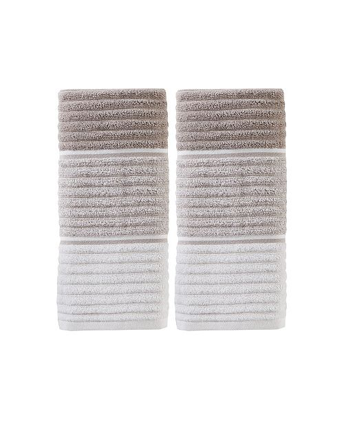 Saturday Knight Planet Ombre 2 Piece Hand Towel Set