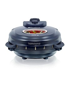 Euro Cuisine PM600 Electric Pizza Maker - With Stone and Pan