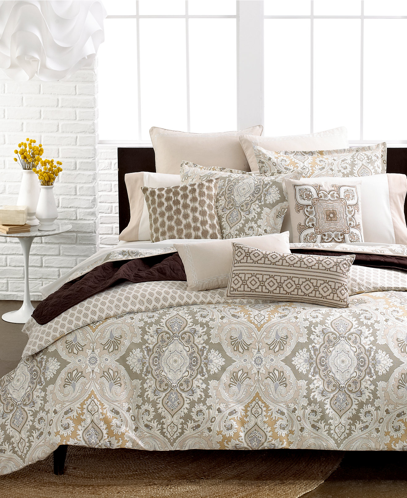 bedding collections  macy's - echo odyssey bedding collection  thread count  cotton