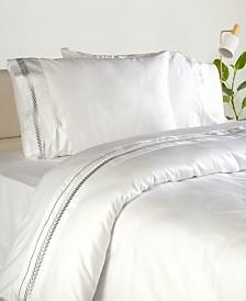 Enchante Home Lafayette 3 pieces Turkish Cotton Sateen King Duvet Cover Set