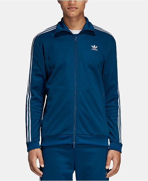 30ddf097ec4d adidas Men s Adicolor Beckenbauer Track Jacket   Reviews - Coats ...