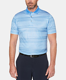 PGA TOUR Men's Stripe Polo