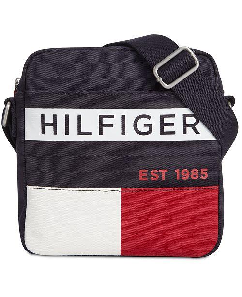 Tommy Hilfiger Men's Colorblocked Crossbody Bag