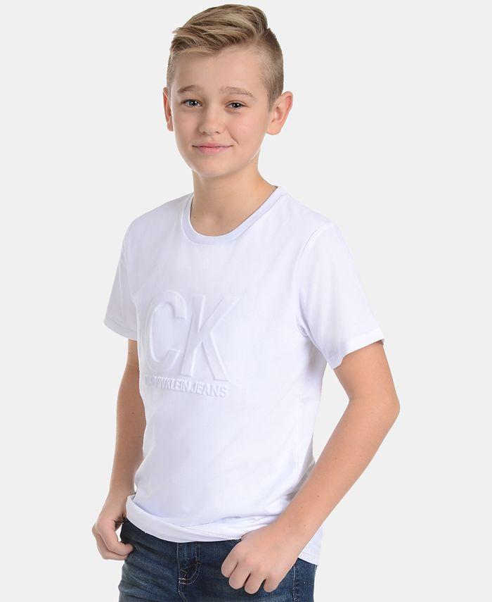 Calvin Klein - Big Boys Graphic-Print Cotton T-Shirt