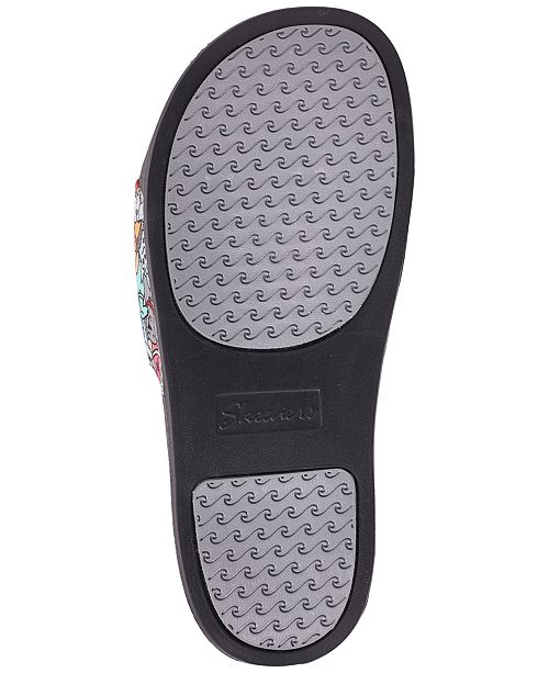 4fa8d68f47f9 Skechers Women s BOBS For Dogs and Cats - Woof Party Slide Sandals from  Finish ...